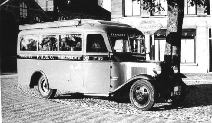 Bus-Franeker-Harlingen-lang-geleden