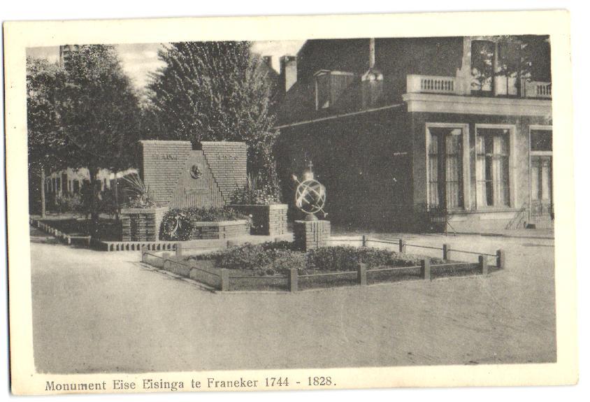 Eise-Eisinga-monument-1930